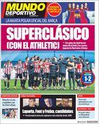 روزنامه موندو| سوپرکلاسیکو با اتلتیک