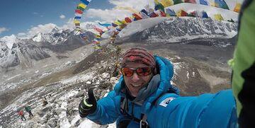 درگذشت کوهنورد در مسیر صعود به بلندترین قله جهان