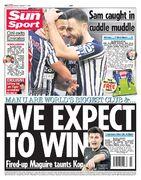 روزنامه سان| ما انتظار داریم برنده شویم