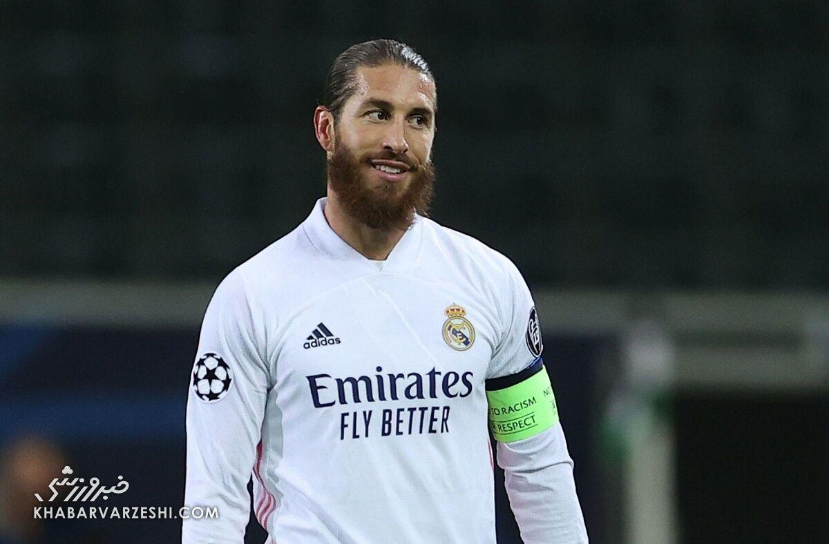 ادامه کلنجار سرخیو راموس با باشگاه رئالمادرید