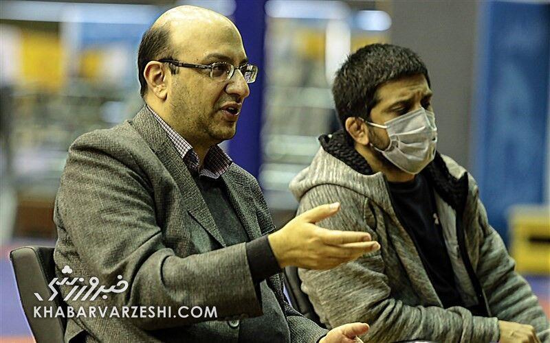مهدی علینژاد: برای کسب مدال در ووشو، از فنونِکشتی استفاده کردیم