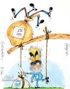 کارتون| فکری وزنههای استقلال را به باد داد!