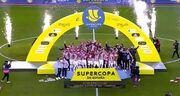 ویدیو| جشن قهرمانی اتلتیک بیلبائو در سوپرکاپ اسپانیا