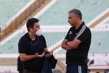 محرومیت امیر قلعهنویی و ساکت الهامی در اولین بازی جام حذفی