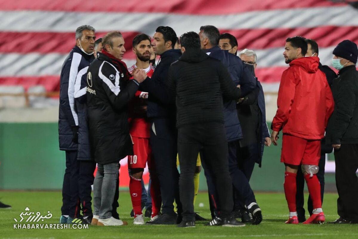 بیانیه باشگاه فولاد خوزستان در خصوص حواشی بازی با پرسپولیس