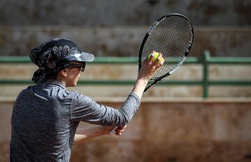 یاسمین سعادت: امیدوارم تنیس حرفهای شود
