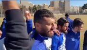 ویدیو| جشن تولد محمد دانشگر در حاشیه تمرین استقلال