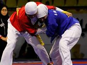 مسابقات قهرمانیکشور کشتی آلیش بانوان در تهران