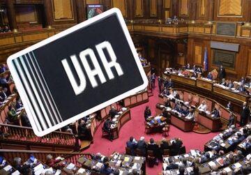 عکس| استفاده از VAR در مجلس سنای ایتالیا!