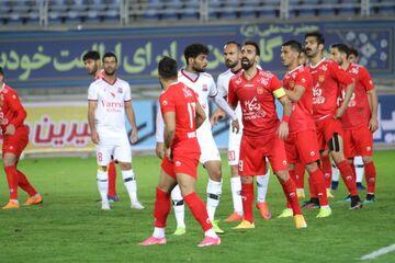 گزارش تصویری| پیروزی اقتصادی شهرخودرو مقابل نساجی مازندران