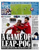 روزنامه اکسپرس| بازی جهش پوگبا