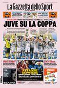 روزنامه گاتزتا| یووه جام را بالا برد