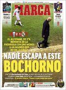 روزنامه مارکا| هیچکس از این خجالت نجات پیدا نمیکند
