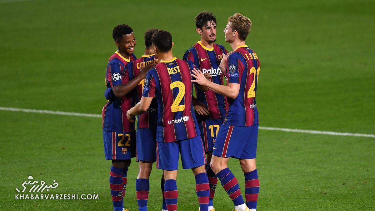 بازیکنانی که با رونالد کومان رشد میکنند؛ بارسلونا، تیمی برای آینده!
