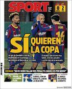روزنامه اسپورت| بله آنها جام میخواهند