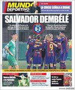 روزنامه موندو  سالوادور دمبله