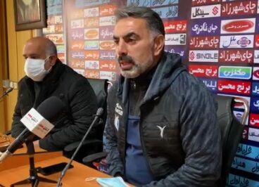 ویدیو  محمود فکری: صدرنشینی ما دلیل صبوری و تلاش بازیکنان تیم است
