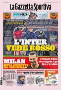 روزنامه گاتزتا| اینتر قرمز را دید