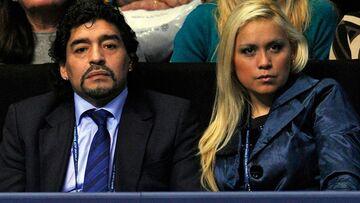 جنگ همسران سابق مارادونا همچنان ادامه دارد