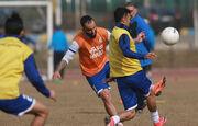 فوتبال پرفشار استقلالی ها در حضور نیکبخت واحدی