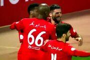 ویدیو| گلزنی مهرداد محمدی برای العربی مقابل امصلال