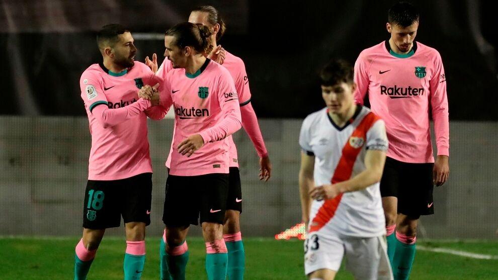 ویدیو  خلاصه بازی رایووایکانو ۱-۲ بارسلونا