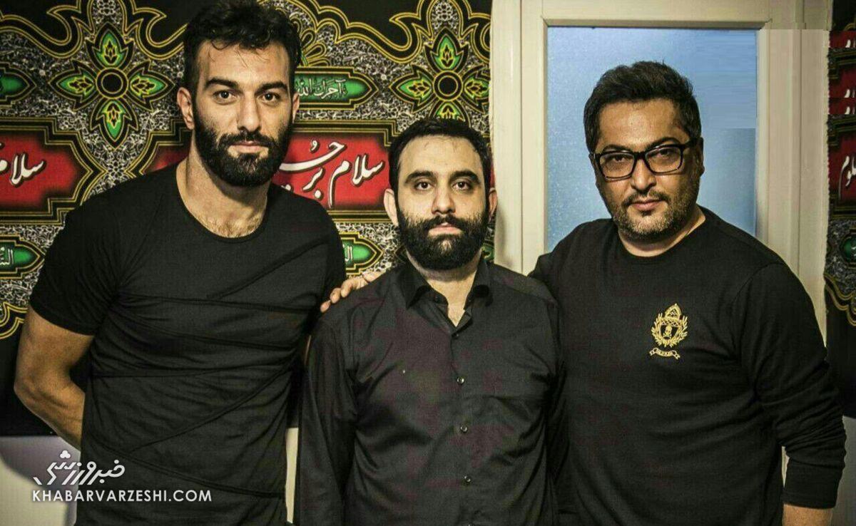 عکس| واکنش احساسی حنیف عمرانزاده به درگذشت مهرداد میناوند