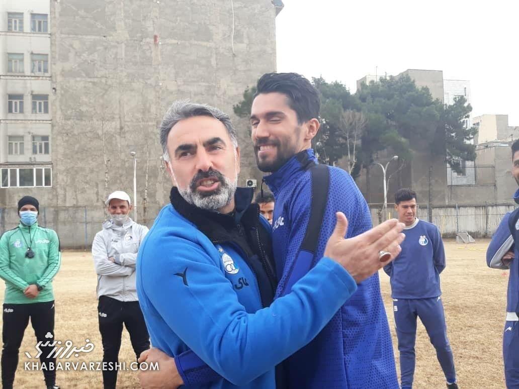 عکس| حمایت محمود فکری از سیدحسین حسینی
