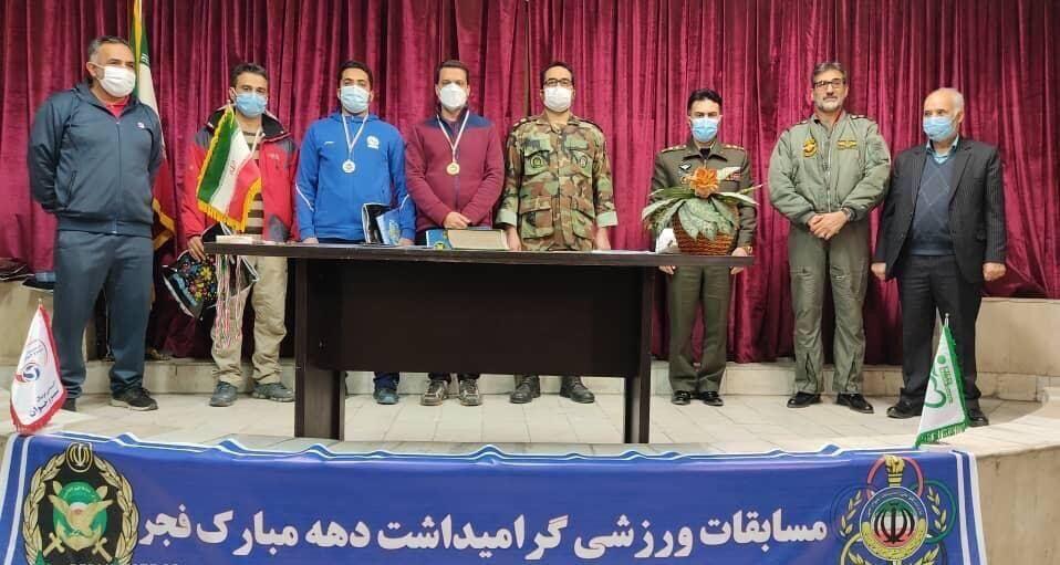 نیروی زمینی قهرمان مسابقات تیراندازی ارتش شد