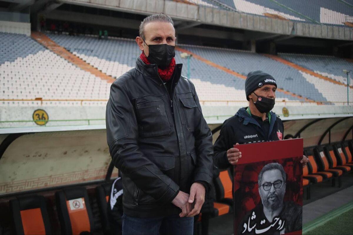 ویدیو  یحیی گلمحمدی: فشار زیادی روی تیم پرسپولیس است