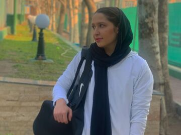 ویدیو| رومینا تاجیک: فقط به قهرمانی فکر میکنم