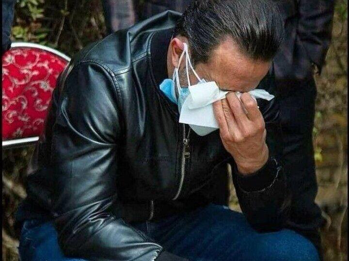 تصویری تلخ از علی کریمی بعد از اعلام درگذشت علی انصاریان