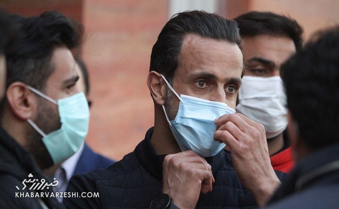 گزارش ویژه از حضور علی کریمی در بیمارستان فرهیختگان/ روایتی متفاوت از شماره ۸ فوتبال ایران