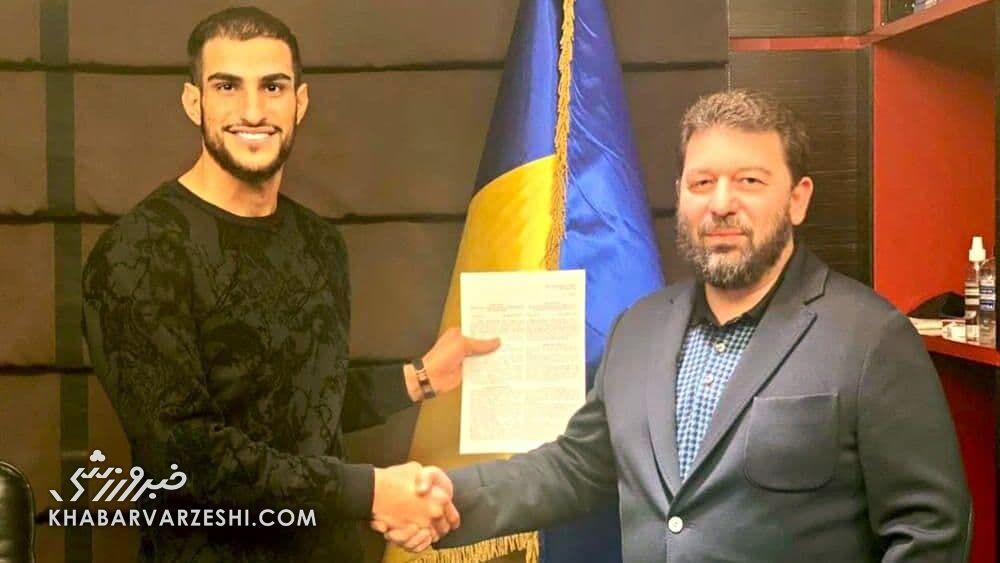 شهاب زاهدی رسماً به زوریا اوکراین پیوست