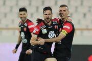 گزارش تصویری| سومین پیروزی متوالی سرخپوشان با دومین گل سه امتیازی حسینی