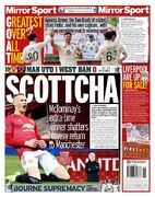 روزنامه میرر  اسکاتلندی