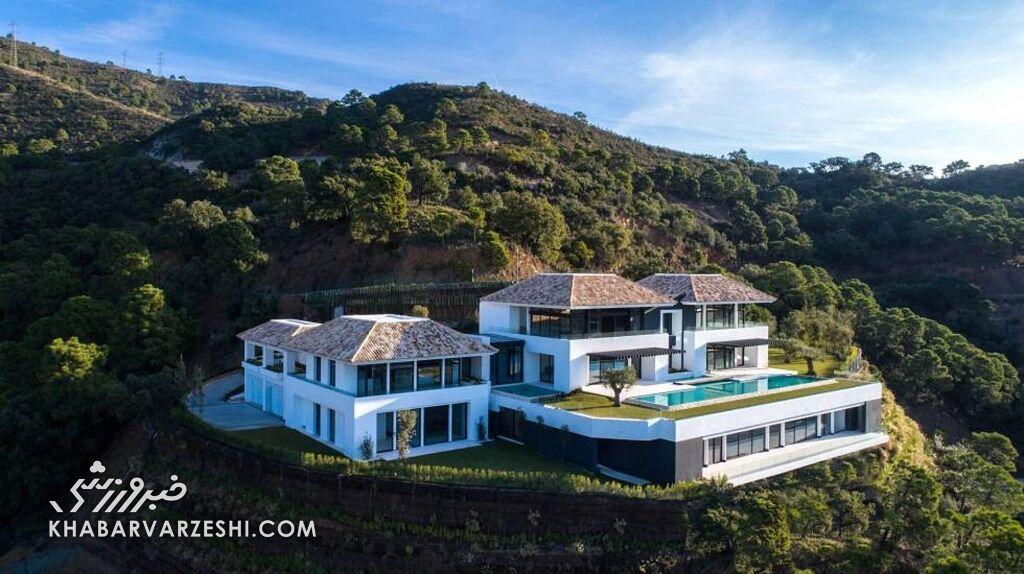 خانه کریستیانو رونالدو