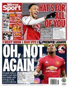 روزنامه میرر  اوه، نه دوباره!