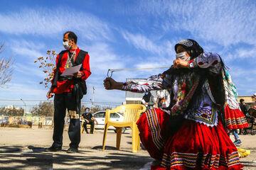 تصاویر| جنجال در بازیهای بومی؛ یک مسئول برکنار شد