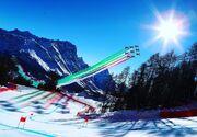 عکس| صحنهای رویایی در حاشیه مسابقات اسکی آلپ قهرمانی جهان