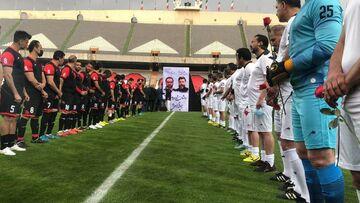 عکس| تونل ستارههای فوتبال برای میناوند و انصاریان