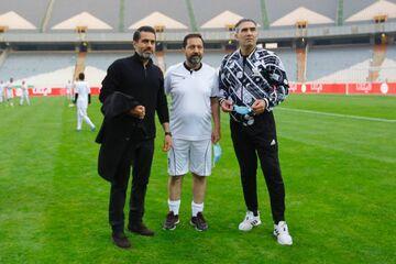 چرا احمد عابدزاده امروز بازی نکرد؟