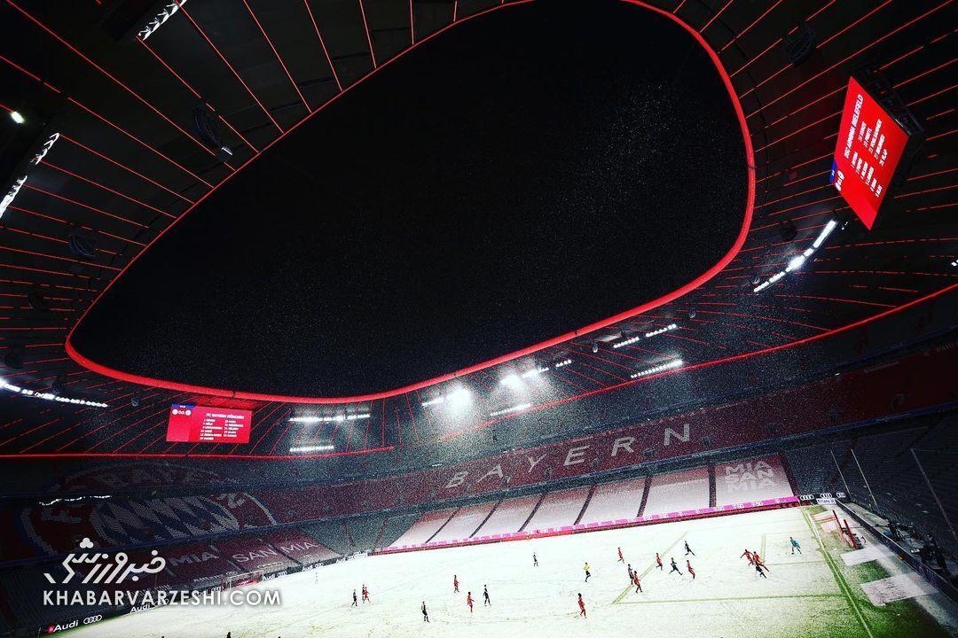 عکس| برفبال در آلمان!