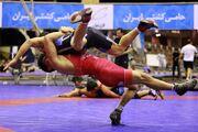 رقابت کشتیگیران ۵ وزن اول در جام بین المللی کییف