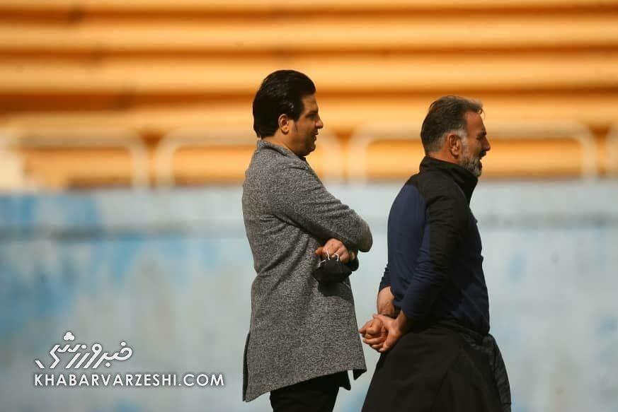 طعنه مربی نفت به فولاد/ امیدوارم به سمت فوتبال کشورهای عربی نرویم!