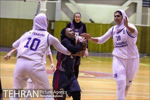 نیمه نهایی لیگ برتر بسکتبال بانوان/ گروه بهمن یک – صفر پیش افتاد