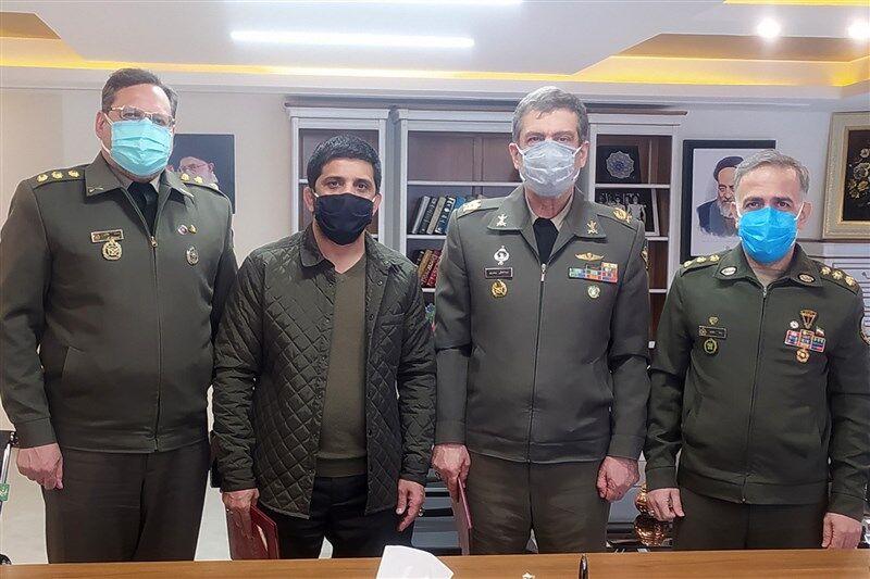 امضای تفاهمنامه همکاری فدراسیونکشتی با نیروهایمسلح