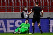 بیرانوند مهمترین بازی فصل آنتورپ را از دست داد