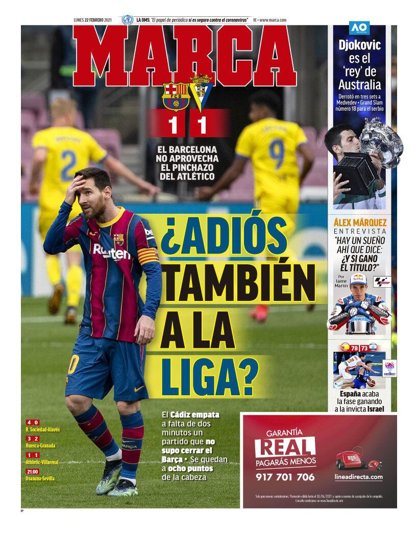روزنامه مارکا| خداحافظی از لالیگا؟