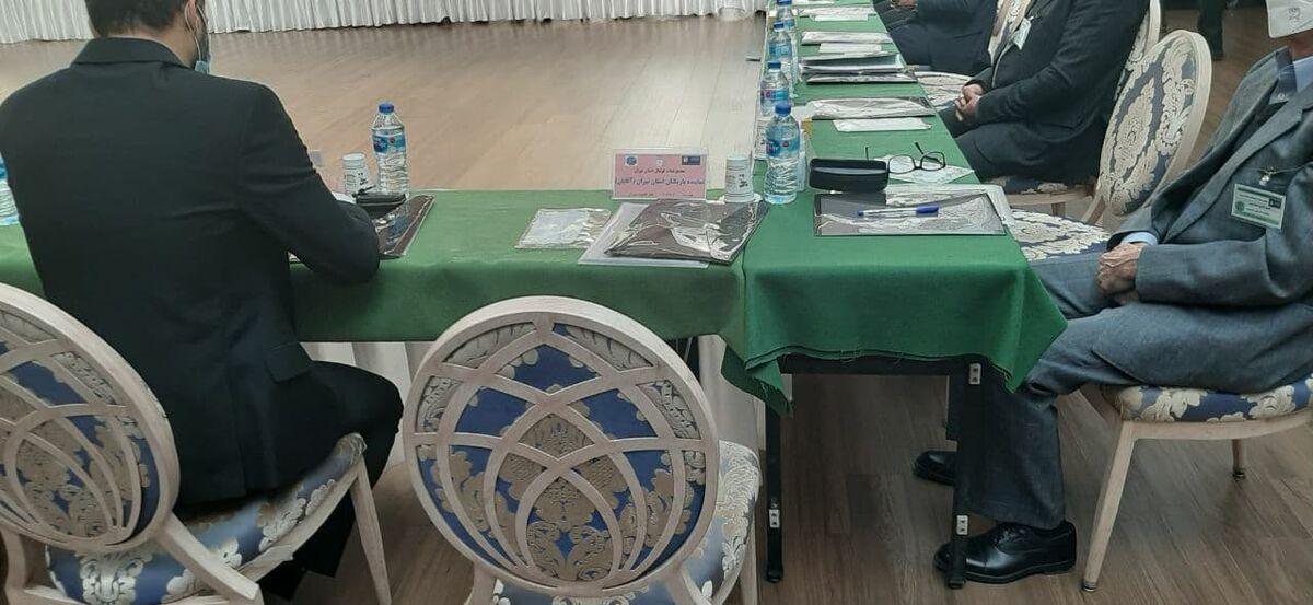 عکس  صندلی خالی ستاره پرسپولیس در انتخابات